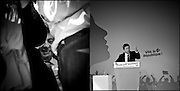 Jean Luc Melenchon lors de son déplacement a Marseille pour un meeting.Jean Luc Melenchon when moved to a rally in Marseille