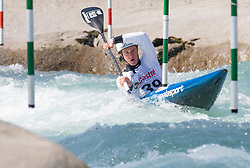 Rozman David (KKK Nivo Celje / Slovenia) during ICF Canoe Slalom Ranking Race Tacen 2018, on April 8, 2018 in Ljubljana, Slovenia. Photo by Urban Meglic / Sportida