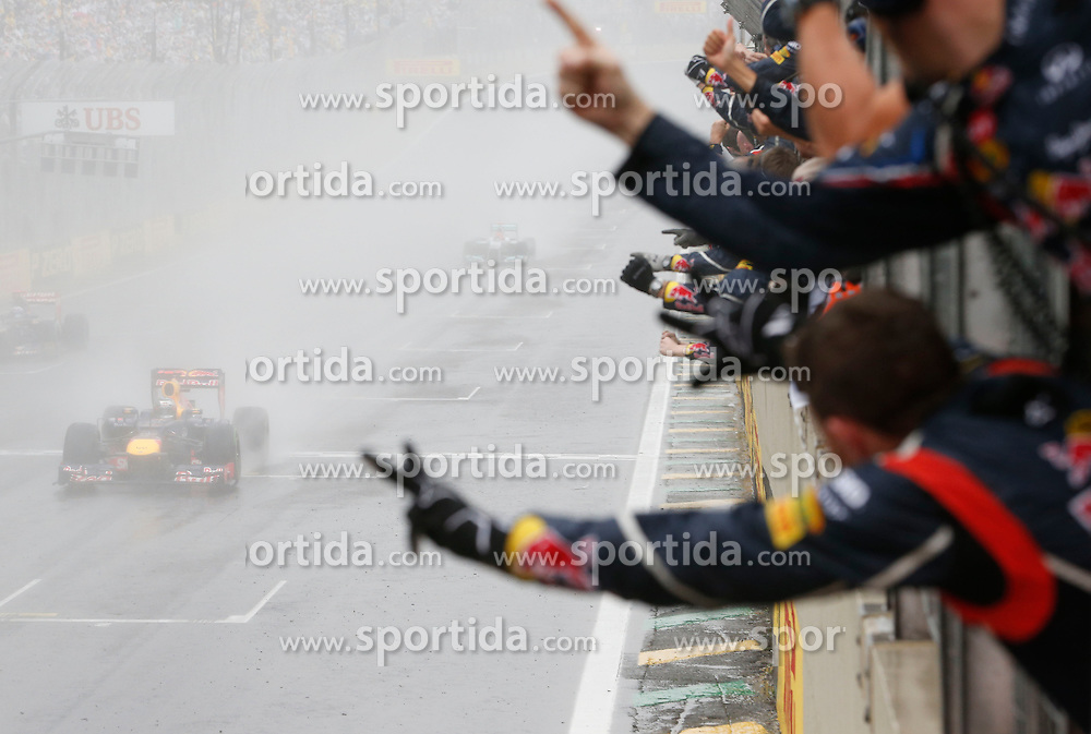 Motorsports: FIA Formula One World Championship 2012, Grand Prix of Brazil, <br /> #1 Sebastian Vettel (GER, Red Bull Racing),  *** Local Caption *** &Atilde;ƒ&acirc;€š&Atilde;'&Acirc;&copy; pixathlon