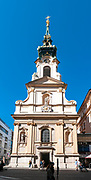 Stiftskirche Parish church on Mariahilferstrasse in district 6 Vienna, Austria