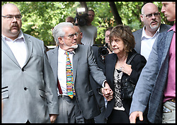 ©Licensed to i-Images Picture Agency. 04/07/2014. London, United Kingdom. Rolf Harris arrives at  Southwark Crown Court with his daughter, he will be sentenced  after being found guilty of indecent assaults . Picture by Hugo Philpott  / i-Images