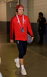 NEW JERSEY, USA - Wednesday, July 25, 2018: Liverpool's goalkeeper Loris Karius arrives before a preseason International Champions Cup match between Manchester City FC and Liverpool FC at the Met Life Stadium. (Pic by David Rawcliffe/Propaganda)