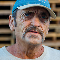 10/28/14 5:53:29 PM -- Cortez, FL, U.S.A  -- John Yates, a former commercial fisherman who was convicted under a major federal document-shredding statute for throwing undersized grouper overboard.  --    Photo by Chip J Litherland, Freelance