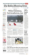 The Dallas Morning News - North Texas, A1 II, December 26, 2012.
