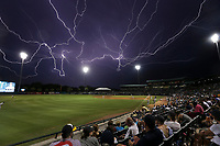Greenville Drive vs. Charleston RiverDogs at Joseph P. Riley Ballpark in Charleston, S.C. on Friday, June 15, 2018.<br /> Zach Bland/Charleston RiverDogs