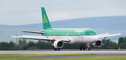 Air Lingus at Manchester Airport, Manchester, United Kingdom on 14 March 2020.