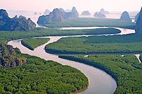 Thailande, province de Phang Nga, parc national Ao Phang Nga // Thailand, Phang Nga Bay, Ao Phang Nga national parc
