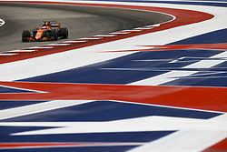 October 20, 2017 - Austin, United States of America - Motorsports: FIA Formula One World Championship 2017, Grand Prix of United States, .#2 Stoffel Vandoorne (BEL, McLaren Honda) (Credit Image: © Hoch Zwei via ZUMA Wire)