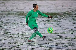 CESENA, ITALY - Tuesday, January 22, 2019: Italy's goalkeeper Rosalia Pipitone during the International Friendly between Italy and Wales at the Stadio Dino Manuzzi. (Pic by David Rawcliffe/Propaganda)