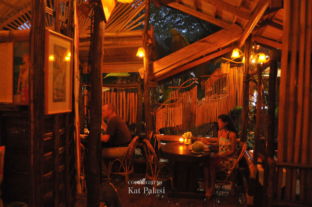 Ka Lui's restaurant, Puerto Princesa,Palawan. It is a well-known dining place for travellers local and foreigners alike.