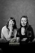 Elizabeth Bourcier, assistant wine maker and Cecile of Cayse Vineyards