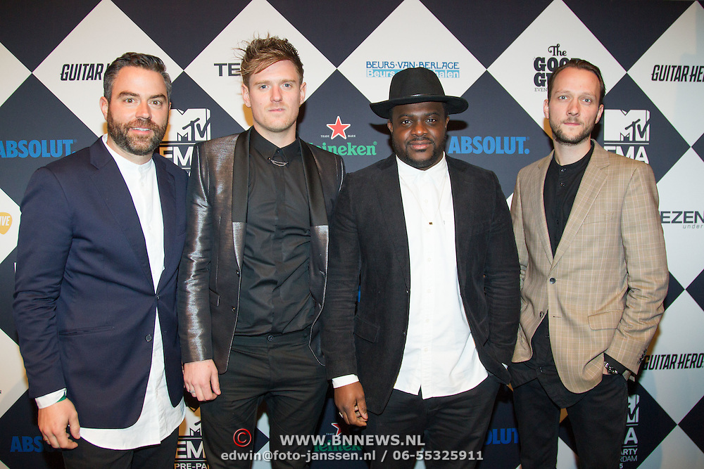 NLD/Amsterdam/20151012 - MTV EMA Pre Party, Causes
