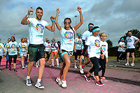 Colour Run, Birmingham, NEC, August, 2016