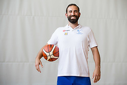 Peter Rankovic of Slovenian Deaf Basketball team at media day, on June 13, 2016 in GIB Centre, Ljubljana, Slovenia. Photo by Vid Ponikvar / Sportida