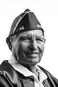 Alex Lujan<br /> Army<br /> Private First Class<br /> Infantry<br /> WWII (Pacific)<br /> 1942 - 1945<br /> <br /> Veterans Portrait Project<br /> San Diego, California