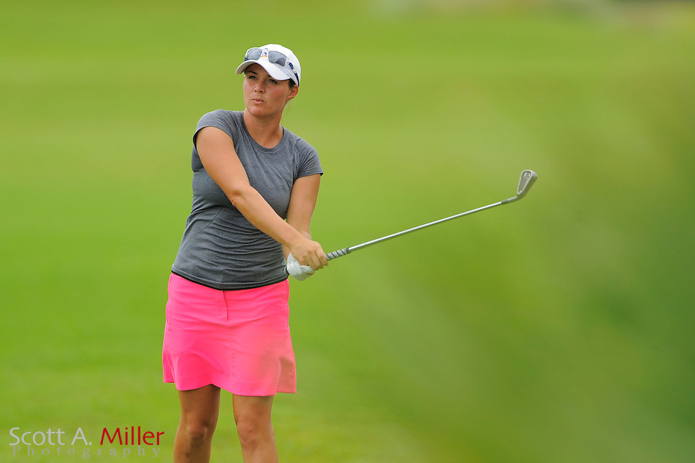 Stefanie Kenoyer during the second round of the Symetra Tour Championship at LPGA International on Sept. 27, 2013 in Daytona Beach, Florida. <br /> <br /> <br /> &copy;2013 Scott A. Miller