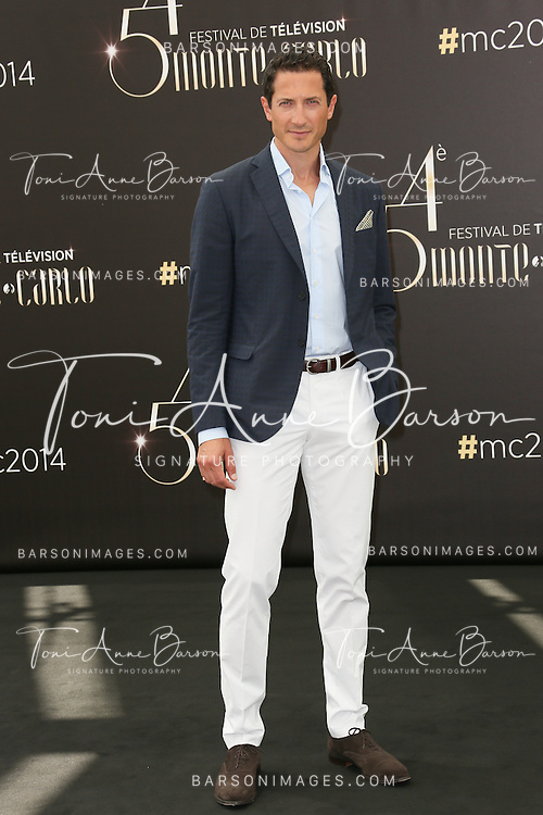 "MONTE-CARLO, MONACO - JUNE 10:  Sacha Roiz attends ""Grimm"" Photocall at the Grimaldi Forum on June 10, 2014 in Monte-Carlo, Monaco.  (Photo by Tony Barson/FilmMagic)"