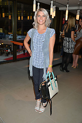 PIPS TAYLOR at the launch of Broadgate Circle, City of London on 9th June 2015.