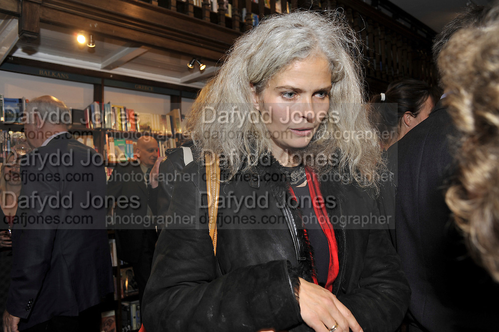 LITERARY AGENT; ANNA WEBBER; , Book launch for Major/Minor by Alba Arikha. A  memoir about her adolescence in Paris published by Quartet Books. Daunts. London. 8 November 2011<br /> <br />  , -DO NOT ARCHIVE-© Copyright Photograph by Dafydd Jones. 248 Clapham Rd. London SW9 0PZ. Tel 0207 820 0771. www.dafjones.com.