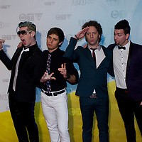 Marianas Trench /JUNO AWARDS RED CARPET 2013