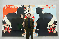 Gary Hume, an English artist. His work is strongly identified with the YBA artists who came to prominence in the early-1990s. Hume became a Royal Academician in 2001.