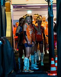 30-05-2019 NED: Volleyball Nations League Netherlands - Poland, Apeldoorn<br /> Laura Dijkema #14 of Netherlands