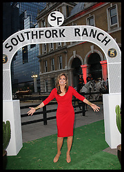 Actress Linda Grey arriving at the launch of the new series of Dallas in London, Tuesday, August 2012. .Photo by: Stephen Lock / i-Images