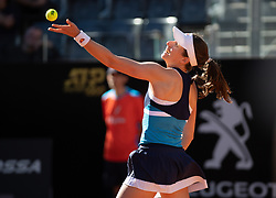 May 16, 2019 - Rome, ITALY - Johanna Konta of Great Britain in action during her third-round match at the 2019 Internazionali BNL d'Italia WTA Premier 5 tennis tournament (Credit Image: © AFP7 via ZUMA Wire)