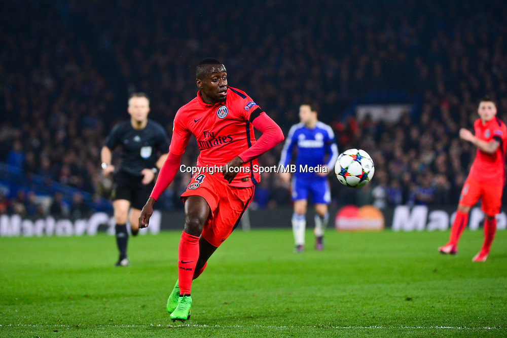 Blaise MATUIDI - 11.03.2015 - Chelsea / Paris Saint Germain - 1/8Finale retour Champions League<br /> Photo : Dave Winter / Icon Sport