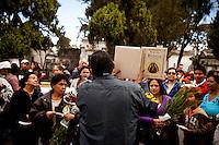 Guatemalans celebrate Dia de los Muertos at Cementario General, in Guatemala City, Guatemala, on Tuesday, Nov. 1, 2011.