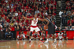 Louisville guard Shaqquan Aaron. <br /> <br /> The University of Louisville hosted the University of Pittsburgh, Wednesday, Feb. 11, 2015 at Yum Center in Louisville. <br /> <br /> Photo by Jonathan Palmer