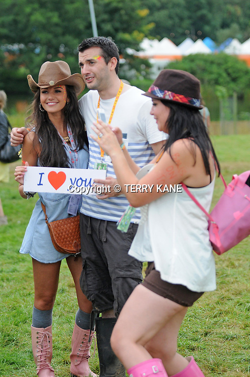 WESTON PARK, UK:.Coronation Street actress Michelle Keegan at the V Festival on Saturday, 18th August 2012..PHOTOGRAPH BY TERRY KANE / BARCROFT MEDIA LTD..UK Office, London..T: +44 845 370 2233.E: pictures@barcroftmedia.com.W: www.barcroftmedia.com..Australasian & Pacific Rim Office, Melbourne..E: info@barcroftpacific.com.T: +613 9510 3188 or +613 9510 0688.W: www.barcroftpacific.com..Indian Office, Delhi..T: +91 997 1133 889.W: www.barcroftindia.com