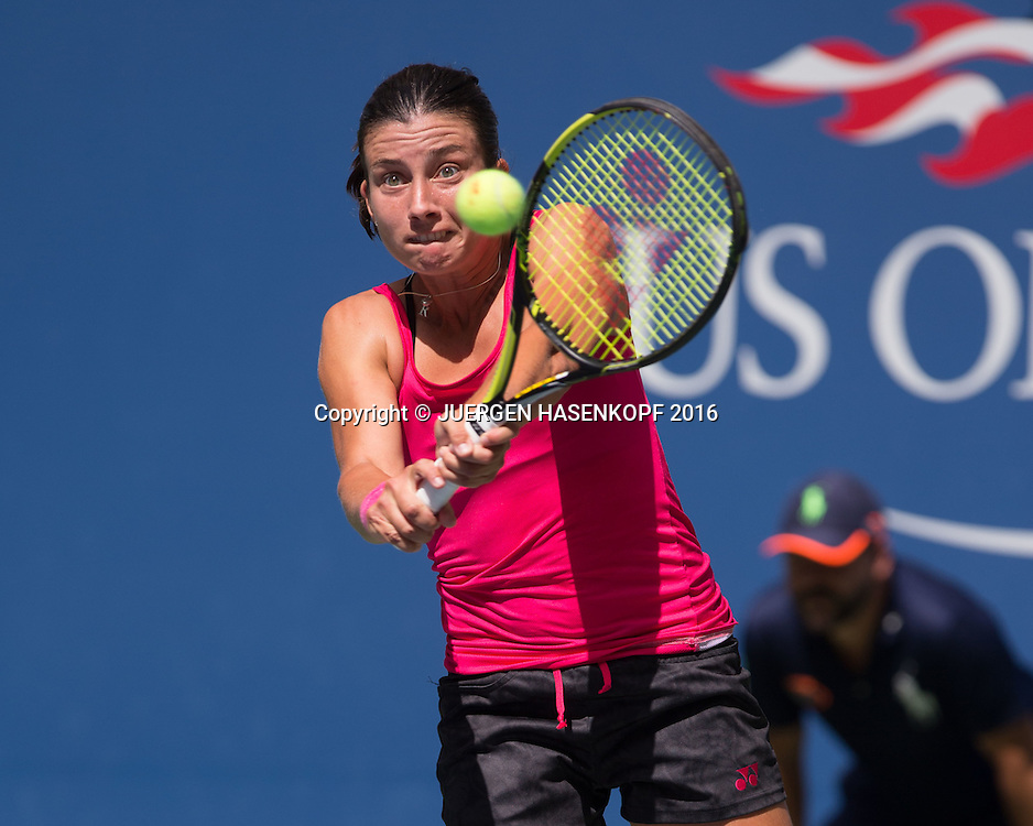 ANASTASIJA SEVASTOVA (LAT)<br /> <br /> Tennis - US Open 2016 - Grand Slam ITF / ATP / WTA -  USTA Billie Jean King National Tennis Center - New York - New York - USA  - 4 September 2016.