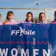 Le Championnat de France de Match Racing Féminin organisé du 16 au 18 octobre 2015 par la Société des Régates Rochelaises,  couru sur des Bénéteau 25