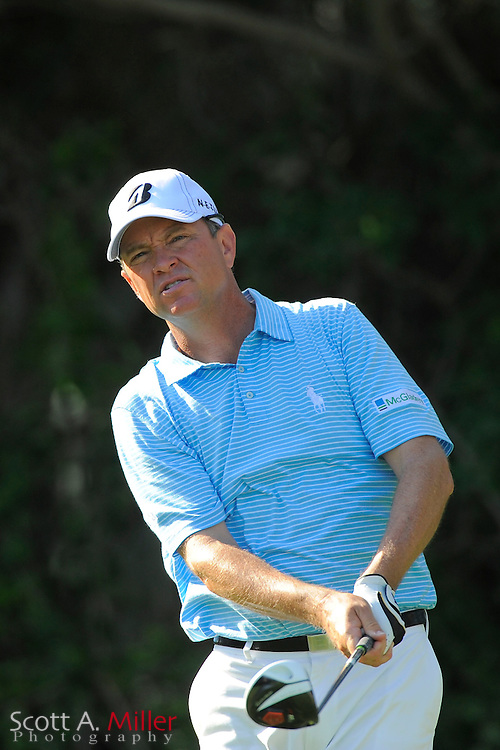 Davis Love III during the second round of the Honda Classic at PGA National on March 2, 2012 in Palm Beach Gardens, Fla. ..©2012 Scott A. Miller.