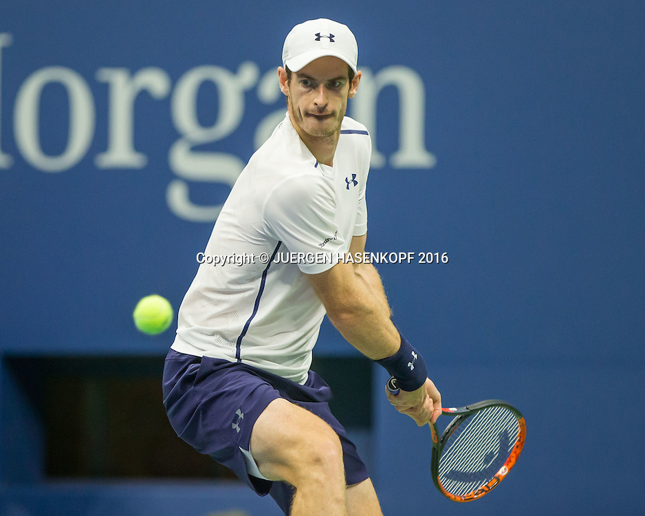 ANDY MURRAY (GBR)<br /> <br /> Tennis - US Open 2016 - Grand Slam ITF / ATP / WTA -  USTA Billie Jean King National Tennis Center - New York - New York - USA  - 1 September 2016.