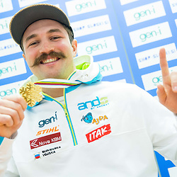 20150127: SLO, Ski Cross - Filip Flisar, World Champion in ski cross 2015 Kreischberg