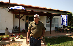 SifSufa - May 5th,  2008 - Yakov Dahan 56 at his home in Sifsufa, Northern Israel 10KM from the Lebanese border, May 5th, 2008. Picture by Andrew Parsons / i-Images