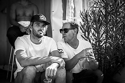 October 12, 2017 - Frederico Morais (PRT)  before his heat of Round Two at Quiksilver Pro France 2017, Hossegor, France..Quiksilver Pro France 2017, Landes, France - 12 Oct 2017 (Credit Image: © WSL via ZUMA Press)
