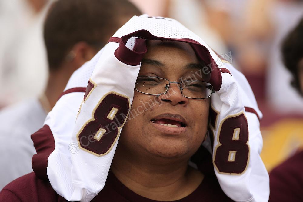 CMU football game day v New Hampshire 2013. Photos by Steve Jessmore/Central Michigan University