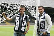 Dundee new boys -  Thomas Konrad and Luka Tankulic pictured at Dens Park<br /> <br />  - &copy; David Young - www.davidyoungphoto.co.uk - email: davidyoungphoto@gmail.com