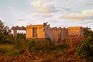 Hurricane damage east of La Palma, Pinar del Rio, Cuba.