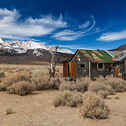 Abandoned Homestead - Mono Basin Eastern Sierras, CA