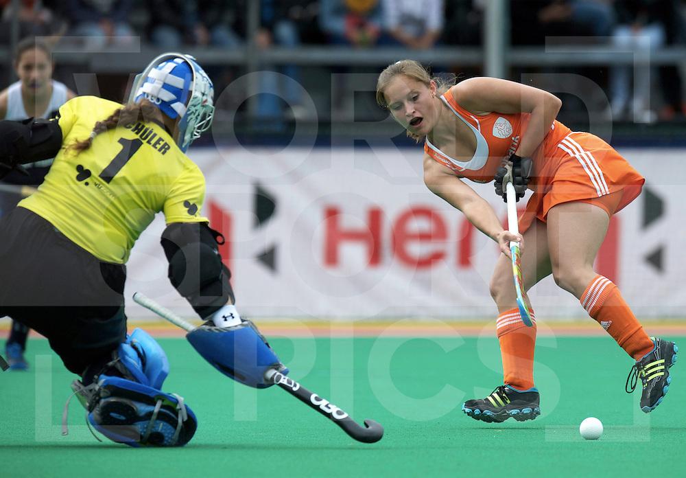 ROTTERDAM - Hock World League Semi Final Women<br /> Netherlands v Chile<br /> foto: Kelly Jonker.<br /> FFU PRESS AGENCY COPYRIGHT FRANK UIJLENBROEK