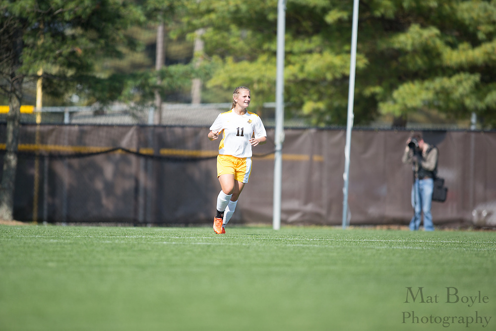 Rowan Univeristy Junior Forward Erika Suhl (11) - Rowan University Women's Soccer vs. William Patterson University at Rowan Univeristy Soccer Fields in Glassboro, NJ on Saturday October 5, 2013. (photo / Mat Boyle)
