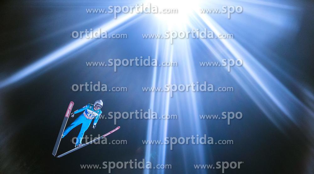 05.01.2015, Paul Ausserleitner Schanze, Bischofshofen, AUT, FIS Ski Sprung Weltcup, 63. Vierschanzentournee, Qualifikation, im Bild Sevoie Descombes (FRA) // during Qualification of 63rd Four Hills Tournament of FIS Ski Jumping World Cup at the Paul Ausserleitner Schanze, Bischofshofen, Austria on 2015/01/05. EXPA Pictures © 2015, PhotoCredit: EXPA/ JFK