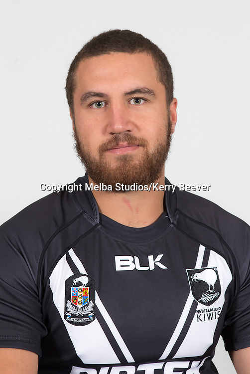 Kenny Bromwich, New Zealand Kiwis rugby league team headshots ahead of the 2014 Kiwis v Kangaroos test. Sydney, Australia. 28 April 2014. Photo: Melba Studios/Kerry Beever