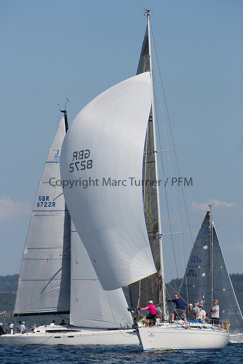 Silvers Marine Scottish Series 2017<br /> Tarbert Loch Fyne - Sailing<br /> <br /> Credit Marc Turner / PFM