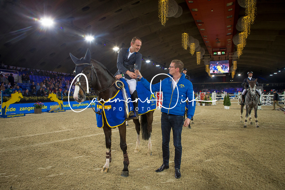 Vermeiren Jan, BEL, Le Blue Diamond van't Ruytershof<br /> Vlaanderens Kerstjumping<br /> Memorial Eric Wauters<br /> Jumping Mechelen 2017<br /> © Hippo Foto - Dirk Caremans<br /> 27/12/2017