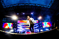 June 20, 2018 - Milan, Italy, Italy - Italian singer Cesare Cremonini performs on stage at Stadio San Siro on June 20, 2018 in Milan, Italy. (Credit Image: © Mairo Cinquetti/NurPhoto via ZUMA Press)